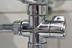 переключатель душ-кран